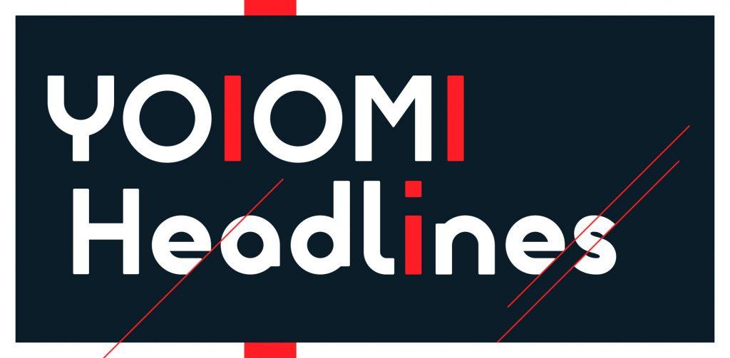 YOIOMI Headlines banner. YOIOMI Studio 2020.
